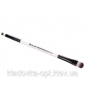 Кисть 2-сторонняя для макияжа №532 Salon Professional, фото 2