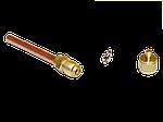 """Вентили типа Шредер с резьбой 1/4"""" SAE и трубкой 60 мм. заправочный штуцер), фото 3"""
