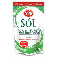 Sante Соль с пониженным содержанием натрия