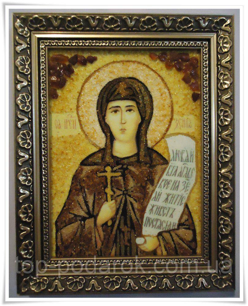 Икона из янтаря именная Ксения іі-71