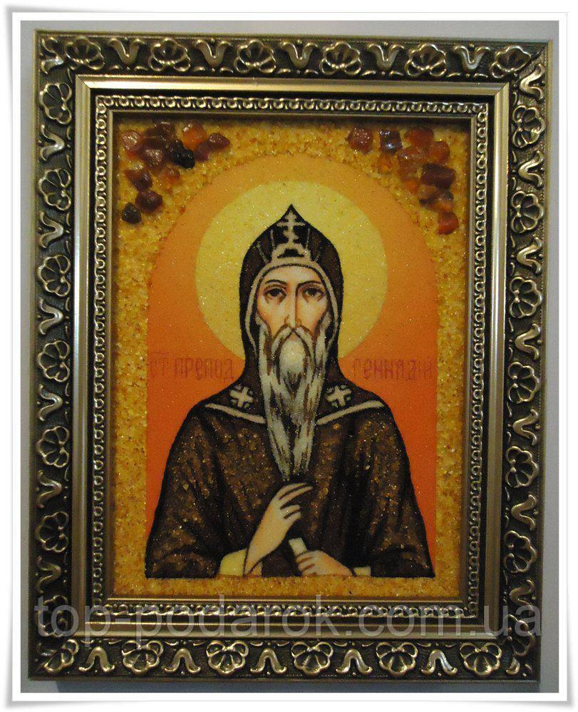 Ікона з янтаря іменна Генадій іі-147