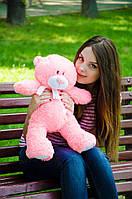 Нежно розовый плюшевый мишка Тедди 60 см