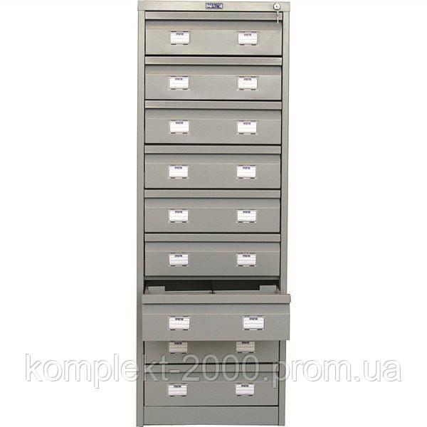 Шкаф картотечный металлический для бухгалтера | Цена бухгалтерского картотечного шкафа из металла в Киеве