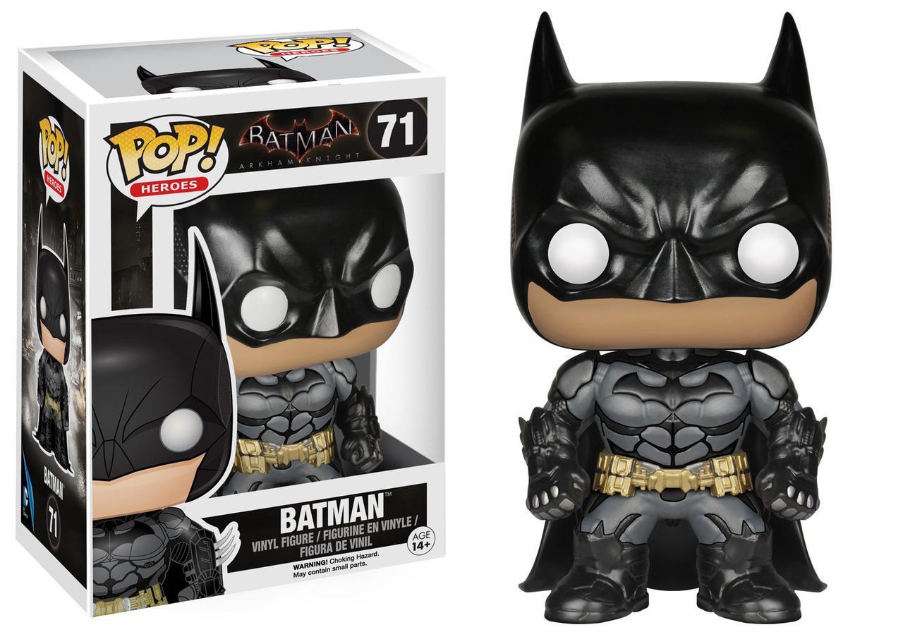 Бэтмен Рыцарь Аркхема виниловая фигурка/ Funko POP Arkham Knight Batman POP Action Figure