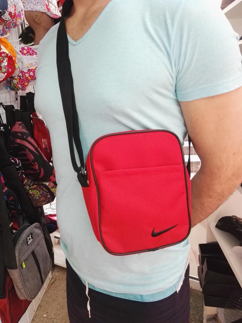 5c8ed0e5c7ce Сумка Через Плечо/ Мессенджер, Nike Красный, 21х16 — в Категории