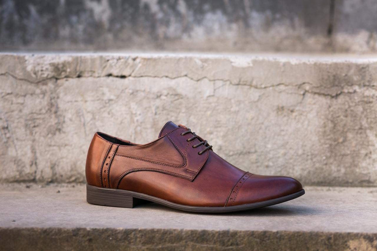 Чоловічі туфлі Tapi - високоякісне шкіряне взуття для Вас! Остання пара 43 розмір