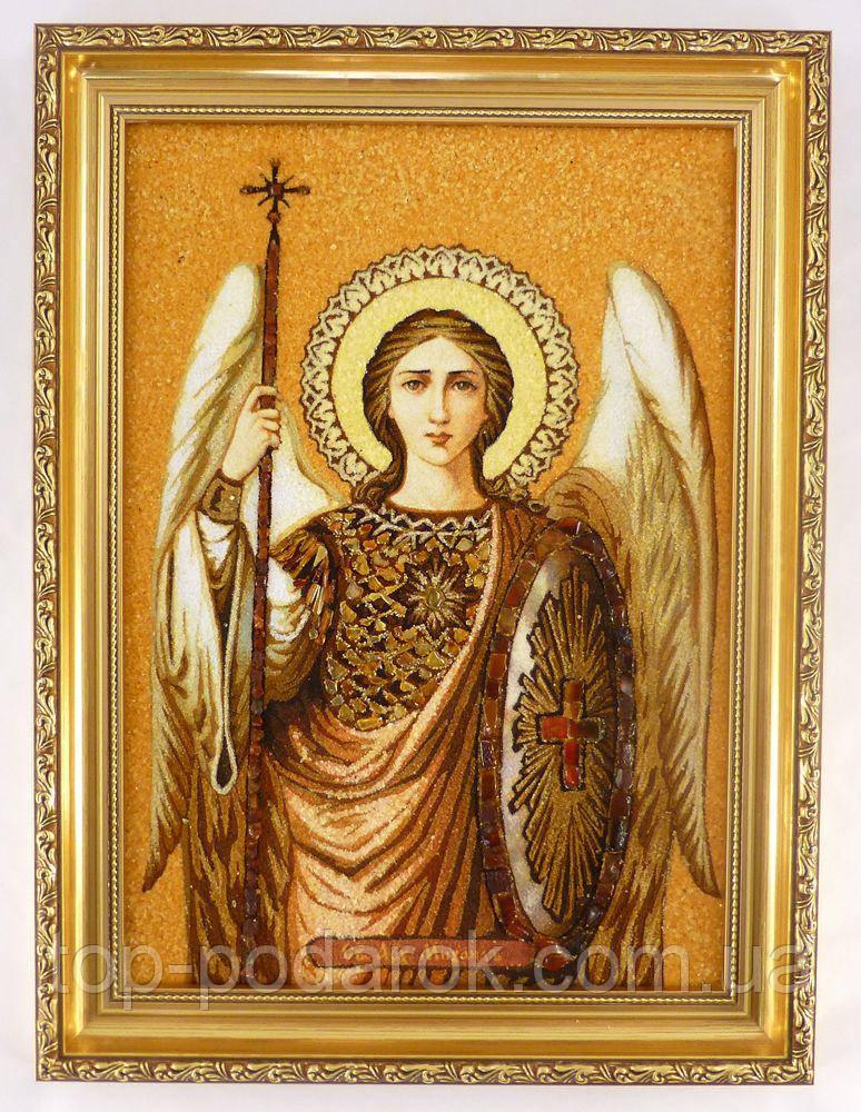 Ікона з янтаря іменна Михайло іі-91