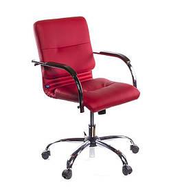 Кресло офисное Samba Ultra GTP механизм Tilt CHR68 кожа люкс LE-E, подлокотники 1.035 (Новый Стиль ТМ)