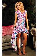 Асимметричное женское платье, фото 1