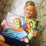 Картины по номерам для начинающих: раскраски для взрослых и детей