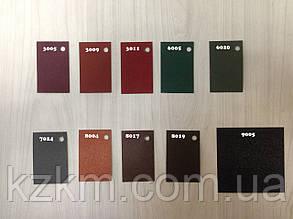 Матовый профнастил для забора, черный, зеленый, коричневый, графит, вишневый, профлист, металлопрофиль