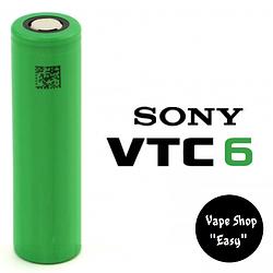 Sony VTC 6 30A 3120mAh 18650 Аккумулятор для вейпа, электронных сигарет.