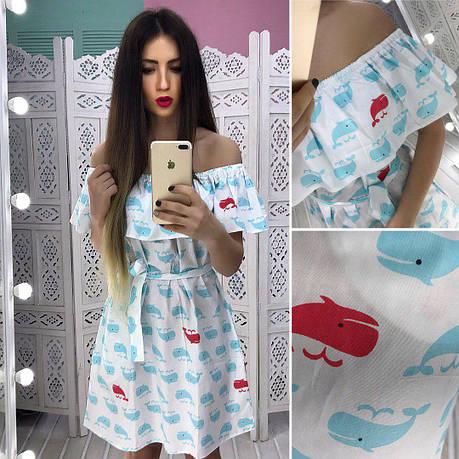 Платье с воланом, фото 2