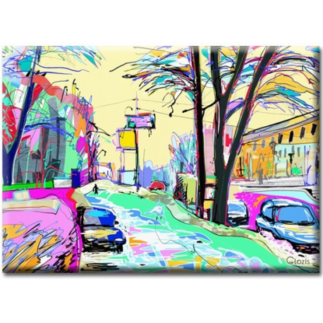 Картина на холсте Street, фото 2