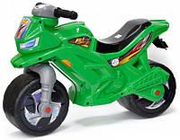Детский мотоцикл-беговел (толокар каталка) Орион 501 зеленый