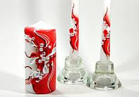 Набор свадебных свечей Bispol 3 шт (С-928)