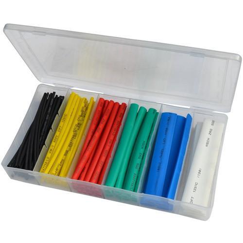 Набор цветных термоусадок 102шт. (1,5; 2,5; 4,0; 6,0; 10; 13мм) в коробке