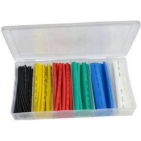 Набір кольорових термоусадок 102шт. (1,5; 2,5; 4,0; 6,0; 10; 13мм) в коробці, фото 2