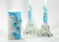 Набор свадебных свечей Bispol 3 шт (С-921)
