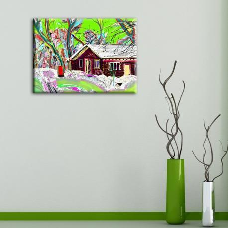 Картина на холсте Village