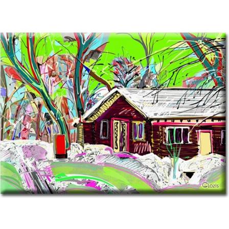 Картина на холсте Village, фото 2