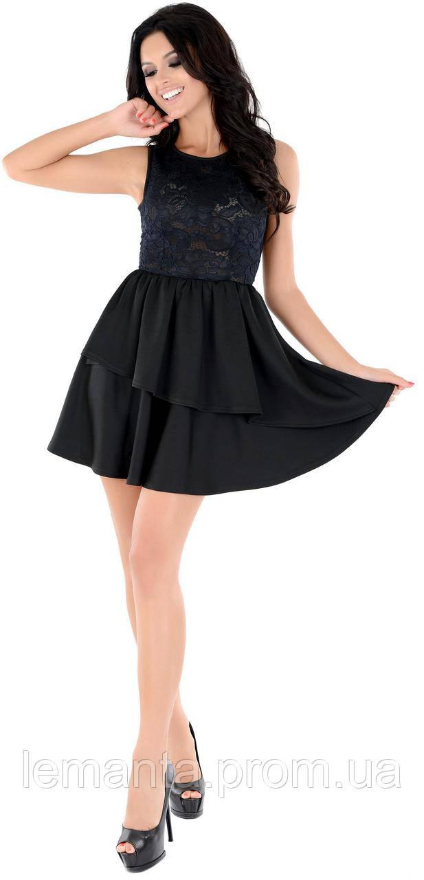 9484e95aeb7 Изящное маленькое черное платье без рукавов 36 - lemanta.com в Одессе