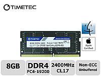 Пам'ять Timetec Hynix IC Apple 8GB DDR4 2400MHz PC4-19200 SODIMM для ноутбука, фото 1