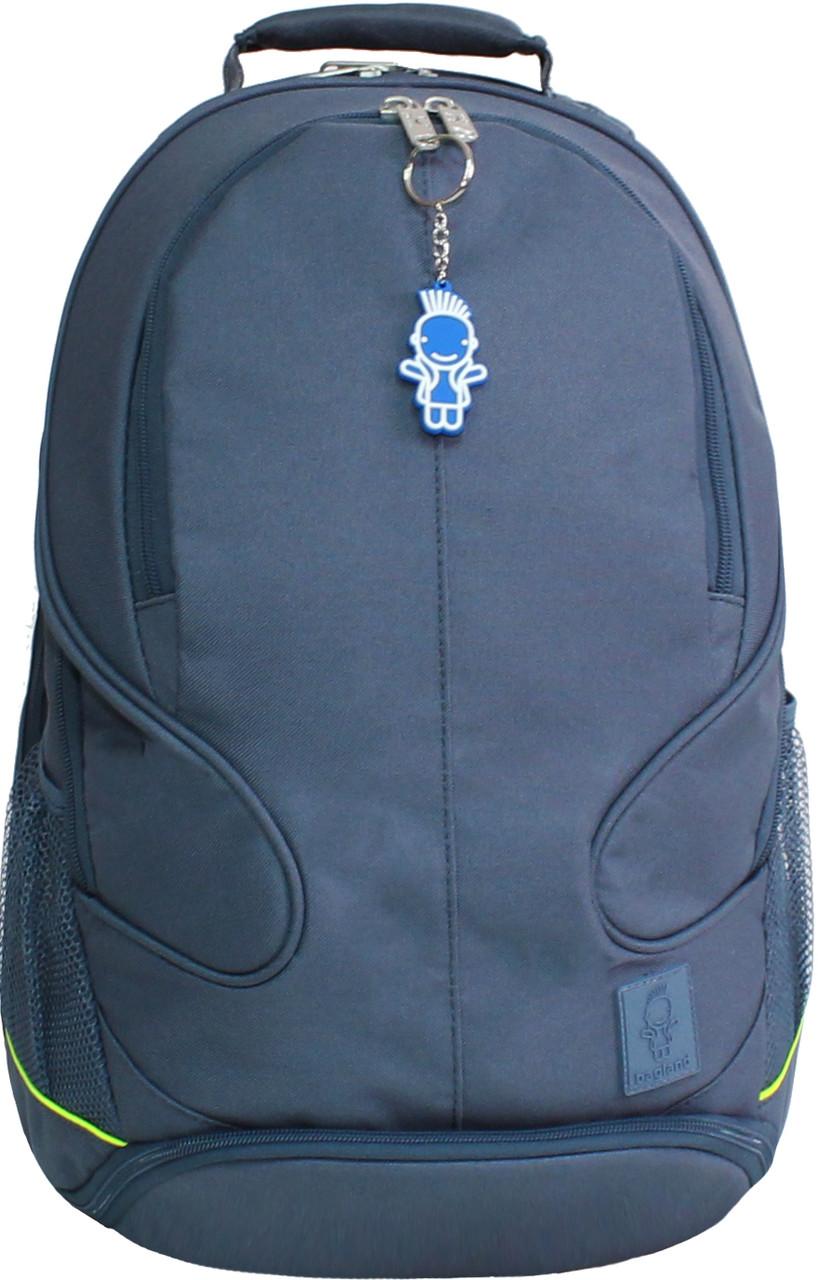 Украина Рюкзак для ноутбука Bagland Рюкзак ZOOTY 24 л. Серый (00531662