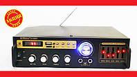 Усилитель Max SN-888BT Bluetooth + КАРАОКЕ 2 микрофона, фото 1