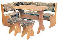 Кухонный уголок «Барон»  с раскладным столоми двумя табуретами