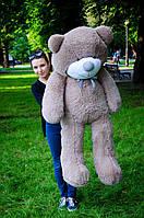 Большой  плюшевый мишка 160 см цвет капучино, фото 1