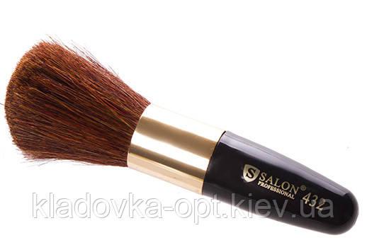 Кисть для румян и пудры №432 Salon Professional с короткой ручкой