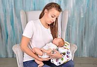 Подушка для кормления на руку, машинки ( детская подушка для кормления )