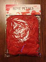 Искусственные лепестки роз (красные)