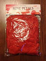 Искусственные лепестки роз SoFun красные 140 шт