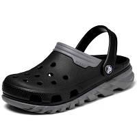 Мужские сабо Crocs Duet Max Clog black