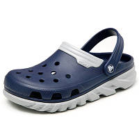 Сабо чоловічі Crocs Duet Max Clog blue-grey