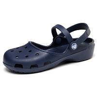 Женские сандалии CROCS  Karin Clog синие