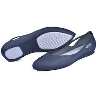 Женские балетки Crocs Rio Flat blue