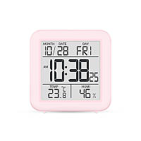 Цифровой термогигрометр Т-15 розовый