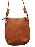 Стильная женская сумка P087 (коричневая)
