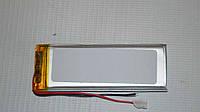 Универсальный аккумулятор (АКБ, батарея) 3.7V 450mAh (3.0*20*60mm)