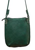Стильная женская сумка P087 (зеленая)