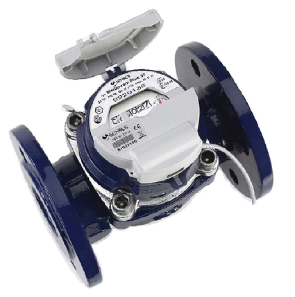 Турбинный счётчик воды WP-Dynamic Sensus 150 DN, фото 2
