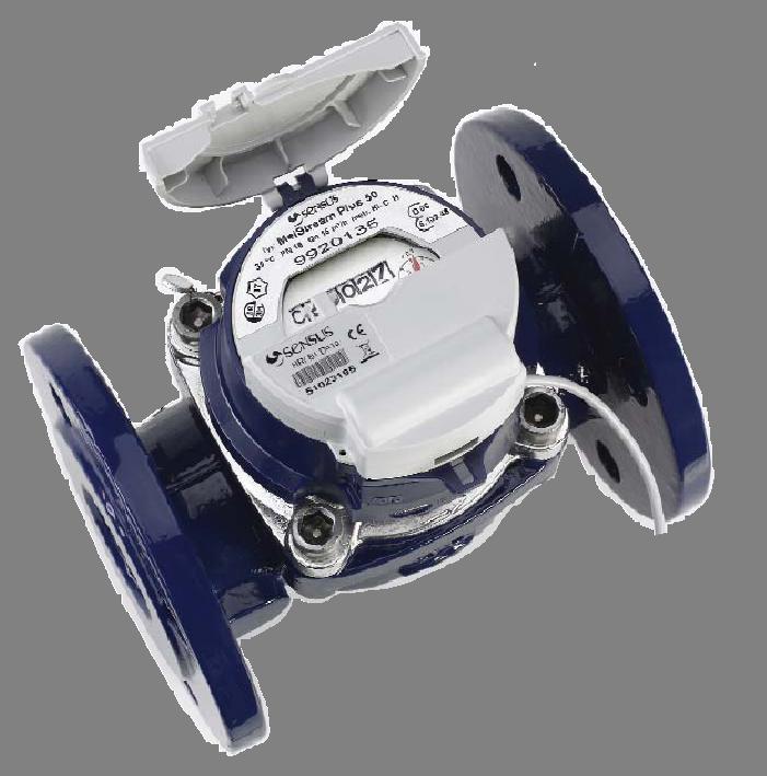 Турбинный счётчик воды WP-Dynamic Sensus 200 DN