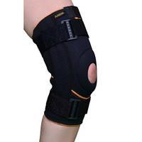 Бандаж для колінного суглоба (з силіконовим кільцем і спіралями) Armor