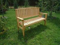 Скамья деревянная садовая раскладная, фото 1