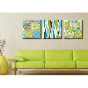 Модульная картина на холсте Триптих Spring, фото 2
