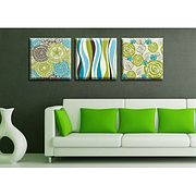 Модульная картина на холсте Триптих Spring