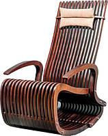 Кресло-качалка №3 деревянная, фото 1